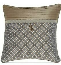 "Croscill Callisto European Pillow Sham Multi Damask Gold Blue  26"" x 26"""