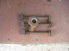 High Strength 245mm x 25mm Bolt Nut & Washer Rail  / Versatower / Steel Support