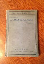 """LeMonde ou l'on S'ennuie""- 1897- Modern Language Series"