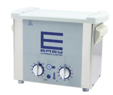 Easy Stainless Ultrasonic Cleaner 3L Solution Bath For Watch Jewelry Parts
