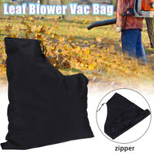 Zippered Leaf Blower Vac Vacuum Bag Lawn Shredder Polyester Replacement