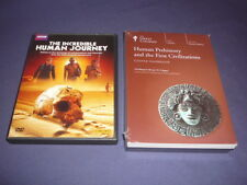 Teaching Co Great Courses DVDs     HUMAN PREHISTORY First Civilizations  + BONUS