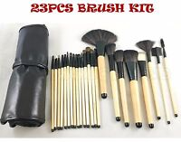 23PCS PROFESSIONAL KABUKI MAKEUP BRUSH SET KIT FOUNDATION MAKE UP BRUSHES UK