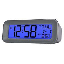 acctim Cayman alarm clock radio controlled auto time 7 languages new cool design