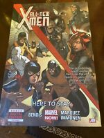 All New X-Men Vol 2 Here to Stay Marvel Hard Cover Lot of 5 New Sealed Copies