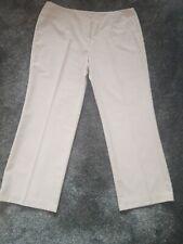Ladies beige Trousers Sz 20