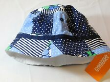 Gymboree Baby Girl's Bucket Hat 12-24 Months 16 GY JAN SP 1 Blues white NWT --