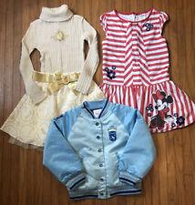 Girls 5/6 Disney Lot Princess Varsity Jacket, Mini Dress, Holiday Outfit