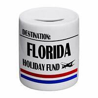 Destination Florida Holiday Fund Novelty Ceramic Money Box