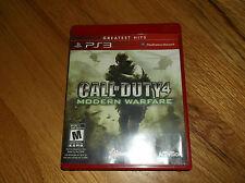 CALL OF DUTY 4 MODERN WARFARE  (Sony Playstation 3) PS3