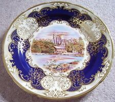 CROWN Staffordshire England Stampo in porcellana-CARICATORE-PLACCA, 25th Anniversario, Regina