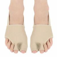 2PCS Big Toe Separator Orthopedic Bunion Corrector Pain Relief Hallux Valgus