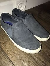 Dr Scholls Womens Wander Up Style  Slip on Sneakers Size 9.5 Blue suede