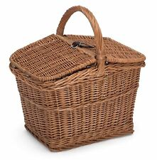 Prestige Wicker Empty Picnic Basket Natural 40 X 30 X 47 Cm