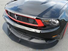 FRONT SPLITTER & 2 SUPPORT RODS 2010-2012 Mustangs w/ Boss 302, C/S valance only