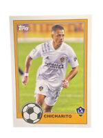 2021 Topps MLS Soccer Javier Chicharito Hernandez 1981 #T81-1 LA Galaxy Mexico