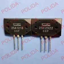 1pair or 2PCS Transistor SANKEN MT-200 2SA1216-P/2SC2922-P 2SA1216/2SC2922