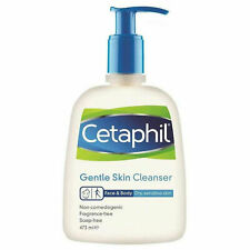 Cetaphil Gentle All Types Skin Moisturising Lotion Soap Free Cleanser. 473ml.