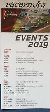 Flyer 2019 Termine Nürburgring Kalender