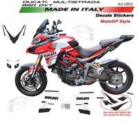Kit adesivi per Ducati Multistrada DVT 950 fino al 2018 design MotoGP18
