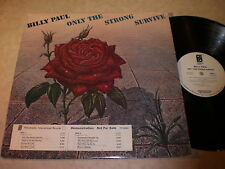 Billy Paul: Only The Strong Survive LP - WLP