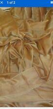5METERS cationic antiqe gold DRESS CHIFFON FABRIC 58WIDE