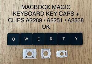  MACBOOK PRO MAGIC KEYBOARD KEYS + HINGE CLIPS A2141 ~ A2289 ~ A2251~ A2338