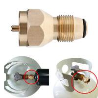 Gasflaschenadapter Propangasflaschen Adapter Stutzen Druckregler für europäische