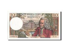 Billets, 10 Francs type Voltaire #204847