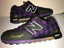 New Balance 576 FPL USA Skowhegan Size 9 LIMITED EDITION M576FPL Purple Plaid