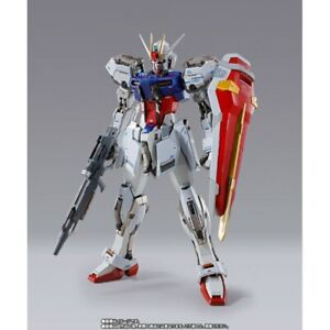 "Bandai Metal Build Strike Mobile Suit Gundam Seed GAT-X105 7.1"" Figure"
