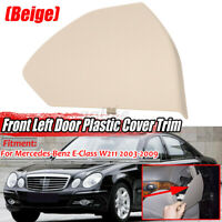 For Mercedes E-Class W211 2003-2009 Beige Front Left Side Door Upper Cover