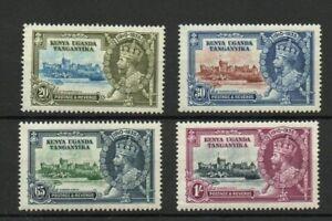 K.U.T. SG 124-7 1935 GV SILVER JUBILEE SET. MNH