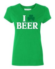 I Clover Beer Women's T-shirt St. Patrick's Day tee