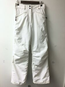 Polar Edge Silver Series Women Size L White Insulated Ski Snowboard Winter Pants
