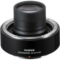New FUJIFILM GF 1.4X TC WR Teleconverter for GF 250mm f/4 R LM OIS WR Lens