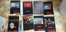 Lot of 8 Super Nintendo USA Manuals +map Final Fantasy Mario Kart Console SNES