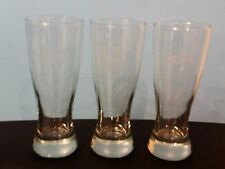 Cleveland Cavaliers Pilsner Style Etched Beer Glasses - All 3 Logos - Set of 3