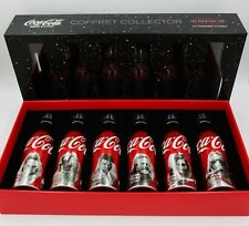 *HTF Disneyland Paris ONLY Star Wars Last Jedi Coca Cola Aluminum Bottle Box Set