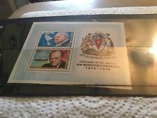 British Antarctic Territory Mint Stamp Miniature Sheet Winston Churchill