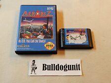 Aerobiz Sega Genesis Game w/ Case No Manual