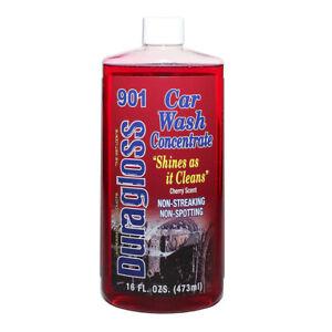 Duragloss Car Wash Concentrate 901 - 473Ml - Car Shampoo - Preserves Wax