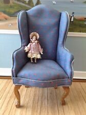 "Dollhouse Miniature Porcelain Doll's Doll Artist Made 1/12"" Scale"