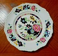 Vintage Mason's Ironstone Pink MANDARIN Dinner Plate Unique Colors!  HTF England