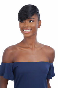 FREETRESS EQUAL SYNTHETIC CLIP-IN HAIR PIECE - EDGY SIDE BANG