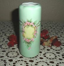 LOVELY VINTAGE / ANTIQUE HAND PAINTED SIGNED BOHEMIAN GERMAN VASE, GERMANY