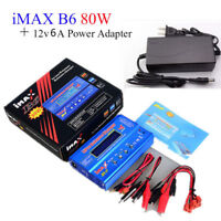 HOT IMAX B6 AC 80W RC Lipo Battery Balance Charger Li-po NiMH Battery Chargeur -