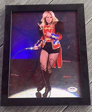 Britney Spears Signed 8X10 Photo Framed PSA COA
