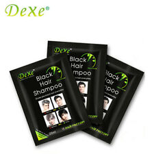 1PCS Dexe Black Hair Shampoo Only 5 Minutes Grey Become Black Hair Color Hai