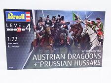 44162   Revell 02453 Austrian Dragoons & Prussian Husares 1:72 Bausatz NEU OVP